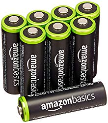AA Rechargeable Batteries (8-Pack)