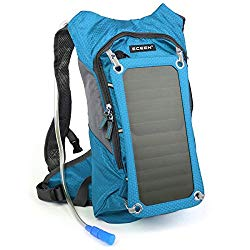 Solar power camping backpack