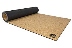 Sustainable yoga mat cork