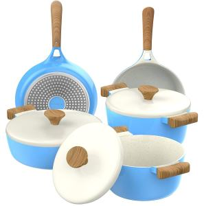 Ceramic Nonstick Cookware Set (2)