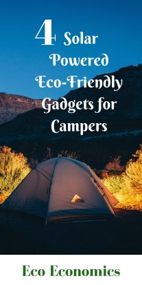 solar powered Eco-friendly gadgets are for campers
