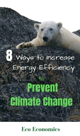 8 Ways to Increasing Energy Efficiency to Prevent Climate Change