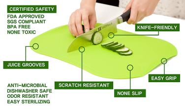 Sustainable TPU Cutting board
